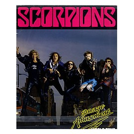 Scorpions - Savage Amusement world tour