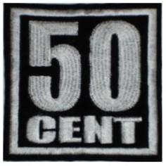 Ecusson Fifty Cent