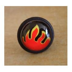 Boucle d'oreille Flammes