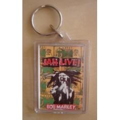 Porte-clés Bob Marley - Jah live !