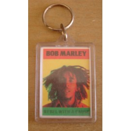 Porte-clés Bob Marley - Rebel with a cause