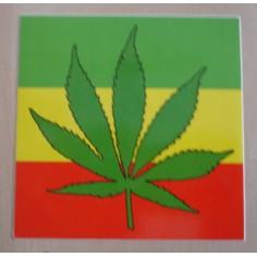 Autocollant Cannabis