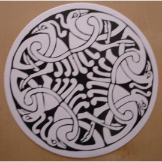 Autocollant celtique