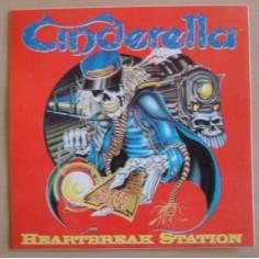 Autocollant Cinderella - Heartbreak station