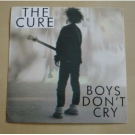Autocollant Cure - Boys don't cry