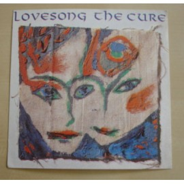 Autocollant Cure - Love song