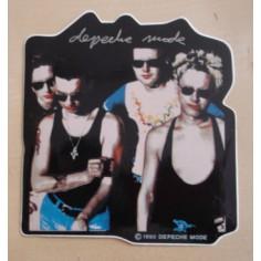 Autocollant Depeche Mode