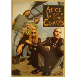 Carte postale Alice in Chains - Down in a hole