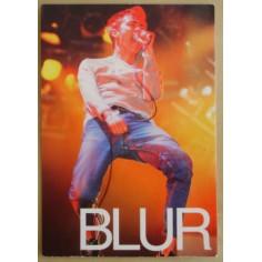 Carte postale Blur