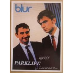 Carte postale Blur - Parklife