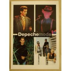 Carte postale Depeche Mode