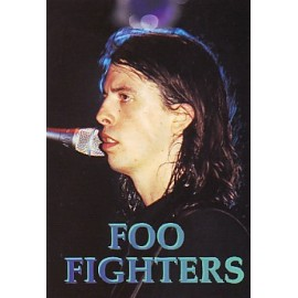 Carte postale Foo Fighters - Dave Grohl