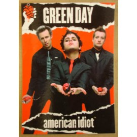 Carte postale Green Day - American idiot