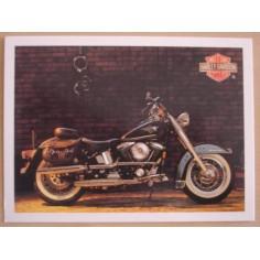 Carte postale Harley Davidson