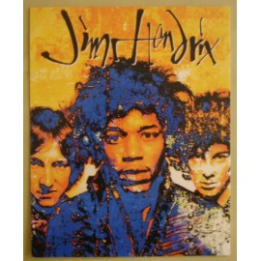 Carte postale Jimi Hendrix (grand format)
