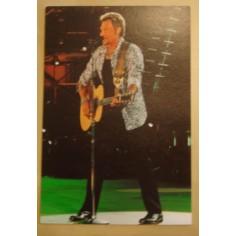 Carte postale Johnny Hallyday