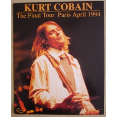 Carte postale Kurt Cobain (grand format)
