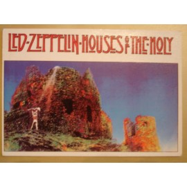 Postcard Led Zeppelin - Houses of the Holy
