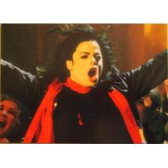 Carte postale Michael Jackson
