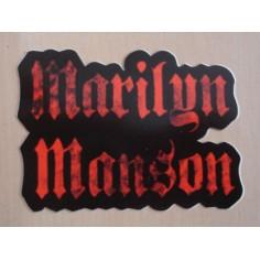 Autocollant Marilyn Manson