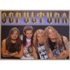 Carte postale Sepultura