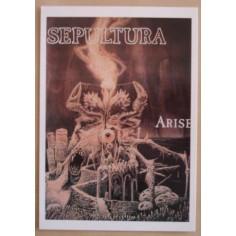 Carte postale Sepultura - Arise