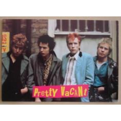 Carte postale Sex Pistols - Pretty vacant