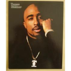 Carte postale Tupac (grand format)