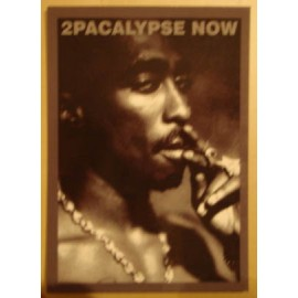 Carte postale Tupac - 2Pacalypse now