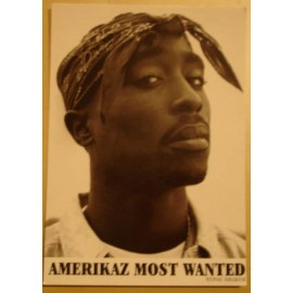 Carte postale Tupac - Americaz most wanted