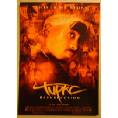 Carte postale Tupac - Resurrection