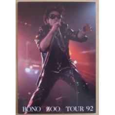 Carte postale U2 - Zoo tour