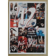 Carte postale U2 - Achtung baby