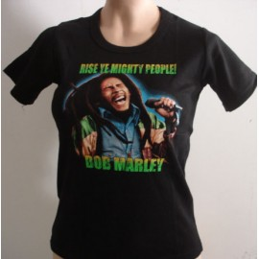 Top fille moulant Bob Marley
