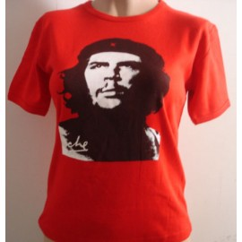 Top fille moulant Che Guevara