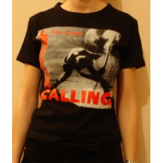 Top fille moulant Clash - London calling