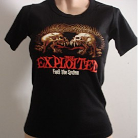 Top fille moulant Exploited