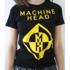 Top fille moulant Machine Head