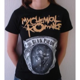 Top fille moulant My Chemical Romance - Black parade