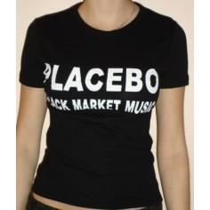Top fille moulant Placebo - Black market music
