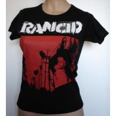 Top fille moulant Rancid