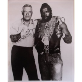 Photo Agence Tous Risques (l') [George Peppard & Mister T]
