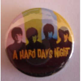 Badge Beatles - A hard day's night