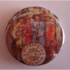 Badge Beatles - Sgt Peppers Lonely Hearts....