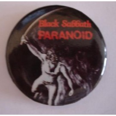 Badge Black Sabbath - Paranoid