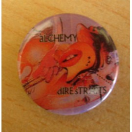 Badge Dire Straits - Alchemy