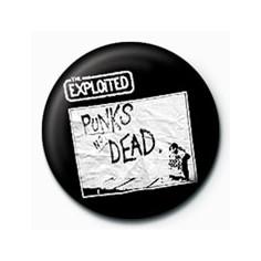 Badge Exploited - Punks not dead