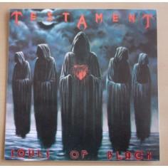Autocollant Testament - Souls of Black