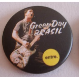 Badge Green Day - Brasil