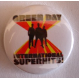 Badge Green Day - International superhits